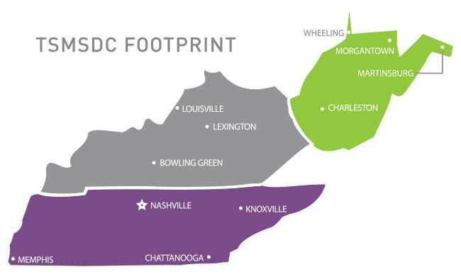 TSMSDC Locations